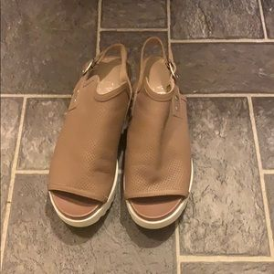 Steve Madden Peep Toe Platform Sandals